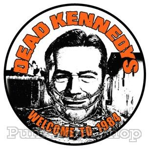 Dead Kennedys Welcome to 1984 Badge