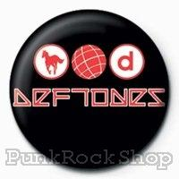 Deftones Logo Badge