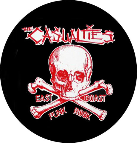 The Casualties East Coast Punks Badge