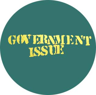 Government Issue Logo Badge