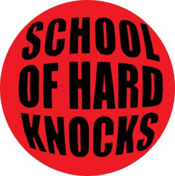 School Of Hard Knocks Badge