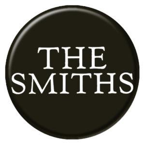 The Smiths Logo on Black Badge