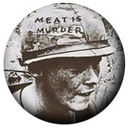 The Smiths Meat Is Murder Badge
