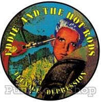 Eddie and The Hot Rods Teenage Depression Badge
