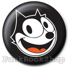Felix the Cat Badge