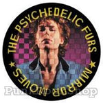 Psychedelic Furs Mirrored Moves Badge