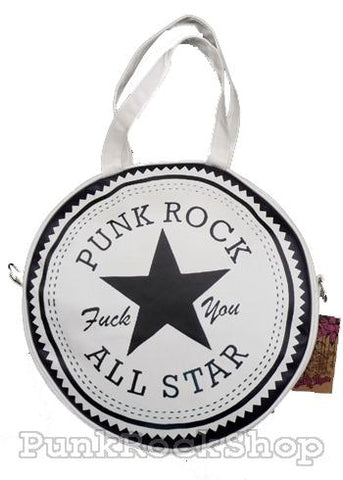 Various Punk All Stars Punk Rock Bag White Bag