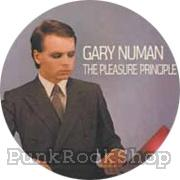 Gary Newman The Pleasure Principle Badge