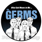 Germs What God Means Badge