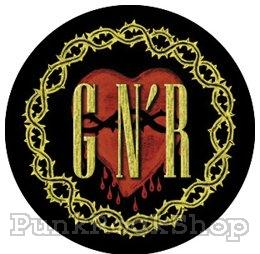 Guns N Roses Thorns Badge