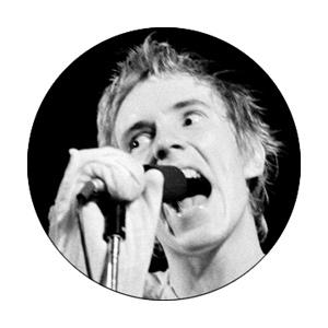 Sex Pistols Johnny Rotten Badge