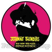 Johnny Thunders Too Much Junkie Business Badge