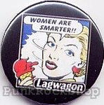 Lagwagon Women Are Smarter Badge