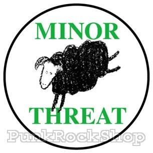 Minor Threat Sheep Badge