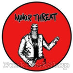Minor Threat Bottled Violence Badge
