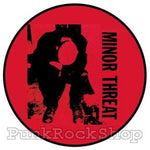 Minor Threat Seven Inch Cover Badge