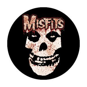Misfits The Bloodied Skull Badge