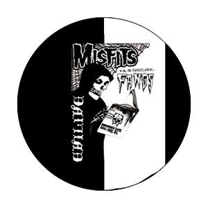 The Misfits Evil Fangs Badge