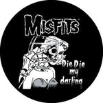 The Misfits Die Die My Darling Badge