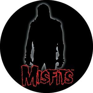 The Misfits Silhouette Badge