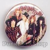New York Dolls Group Photo Badge