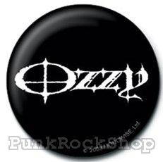 Ozzy Osbourne Logo Badge