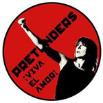 The Pretenders Viva El Amor Badge