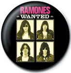 Ramones Wanted Badge