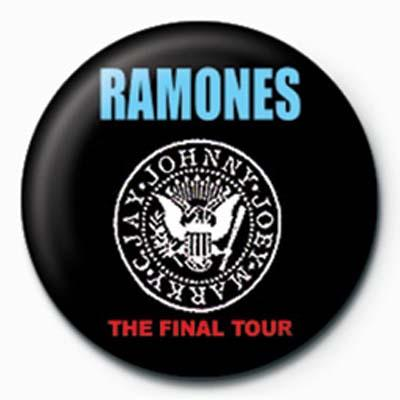 Ramones Final Tour Badge