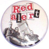 Red Alert In Britain Badge