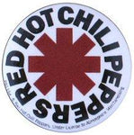 Red Hot Chili Peppers Asterix Badge