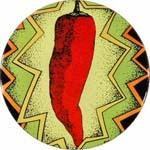 Red Hot Chili Peppers Pepper Badge