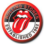 The Rolling Stones Establised 1962 Badge