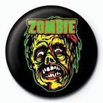 Rob Zombie Face Badge