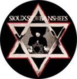 Siouzsie And The Banshees Star Badge