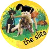 The Slits Band on Yellow Badge