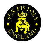 Sex Pistols Bulldog Badge