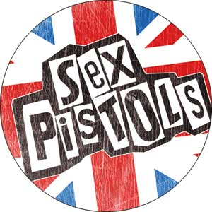 Sex Pistols Flag Badge