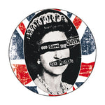 Sex Pistols God Save The Queen Flag Badge