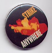 Strike Anywhere Exit English Badge