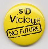 Sex Pistols No Future Badge