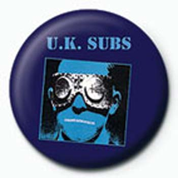 UK SUBS Another kind of Blues Badge