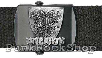 Unearth Shield Logo Belt