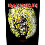 Iron Maiden Eddie Grin Backpatche