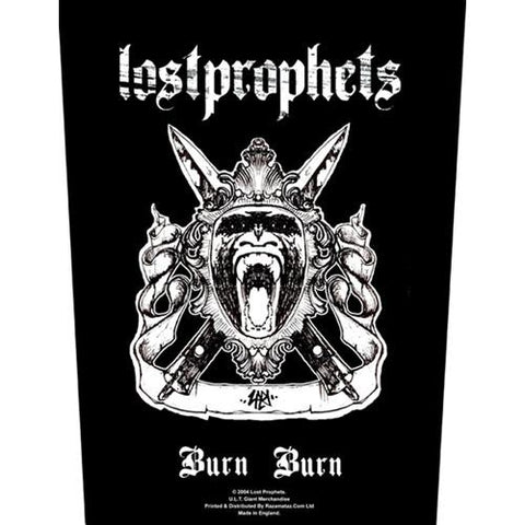 Lostprophets Burn Burn Backpatche