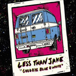 Less Than Jake Goodbye Blue and White CD + DVD CD
