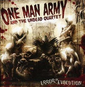 One Man Army and the Undead Quartet Error In Evolution CD