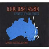 Rollins Band Live In Australia 1990 CD
