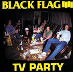 Black Flag TV Party CD