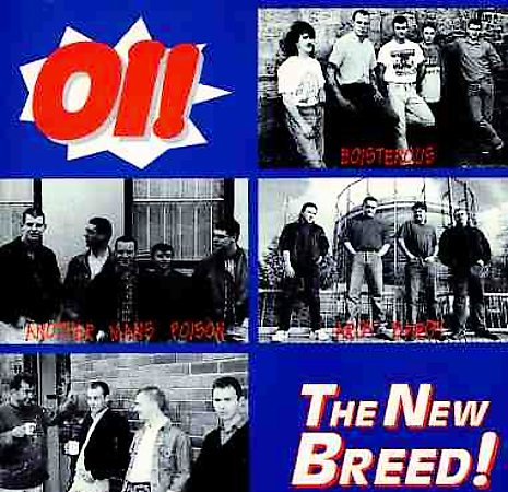 Various Oi Oi! The New Breed CD